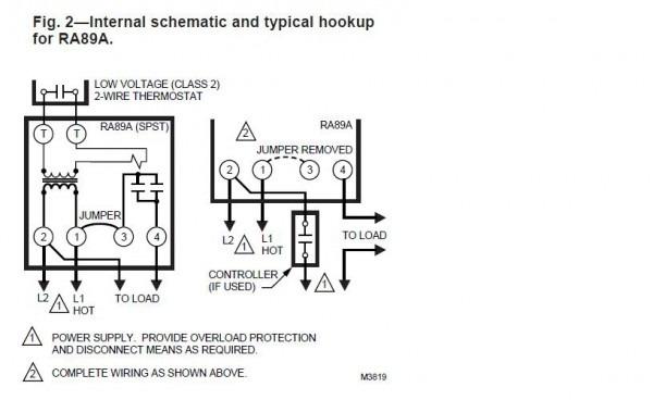 Honeywell Switching Relay Wiring Diagram