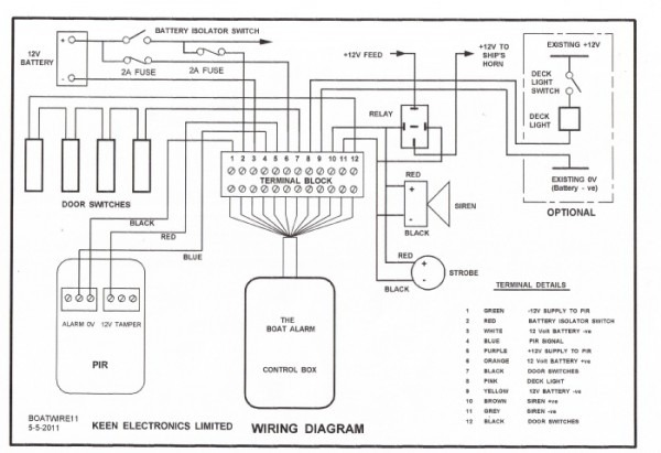 House Fire Alarm Wire Diagrams