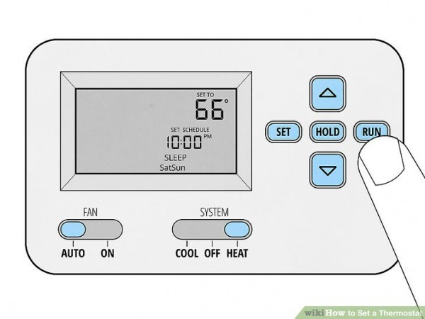 How To Set A Thermostat  14 Steps (with Pictures)