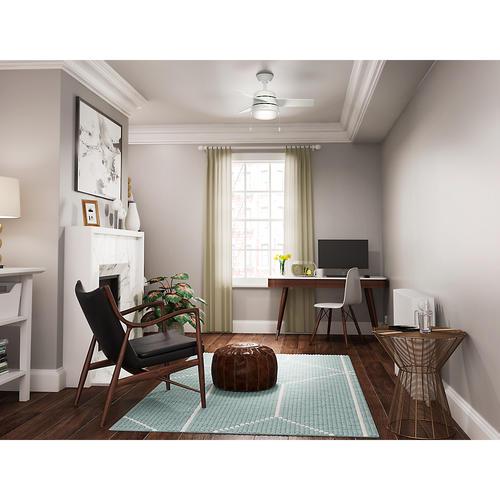 Hunter® Fan Aker 36  Indoor Fresh White Ceiling Fan At Menards®