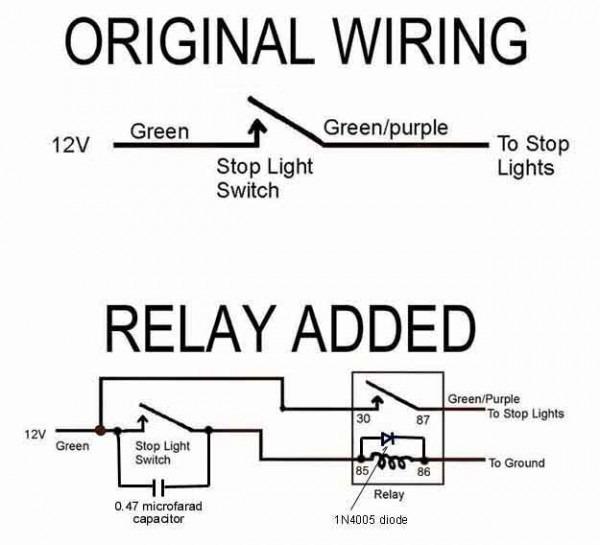 Installing A Brake Light Relay   How