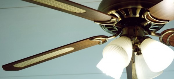 Installing A Ceiling Fan With A Swag Kit