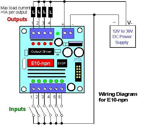 Iv E10 Npn Wiring Diagram  Ece