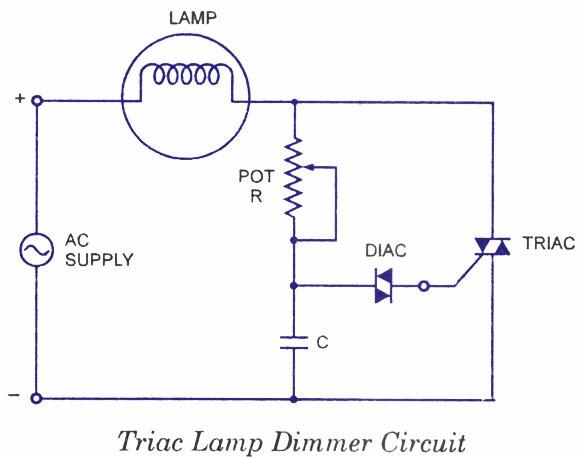 Light Dimmer Schematic Diagram
