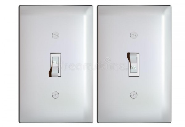 On And Off Light Switch
