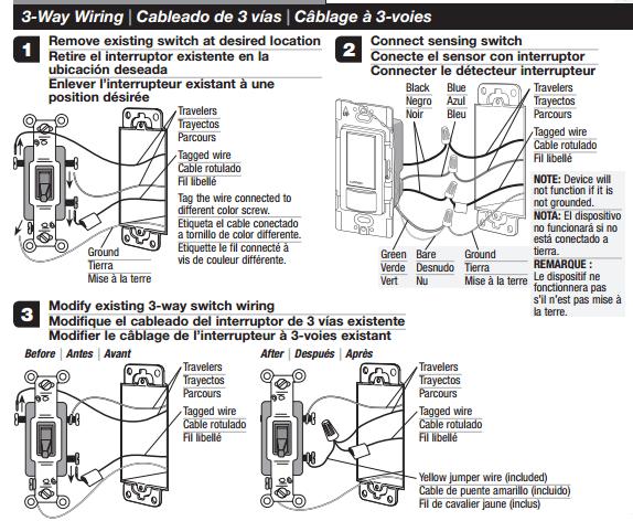 Lutron 3 Way Switch Wiring Diagram