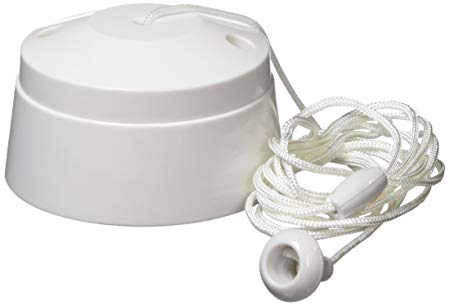 Mk K3191rpwhi 6a 1 Way Sp Ceiling Switch Acorn 1 5m, White  Amazon