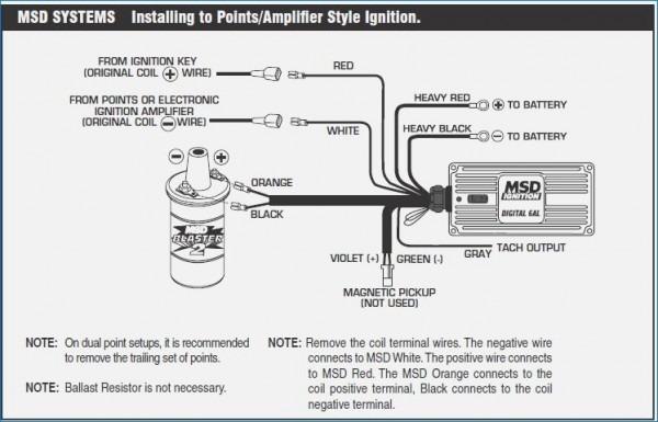 Msd Digital 6al Ignition Wiring Diagram