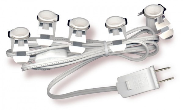 National Artcraft Lamp Cord Sets With Multiple Sockets