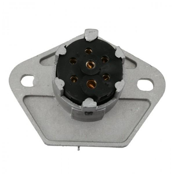 New 7 Pin Trailer Plug Female Heavy Duty Round Pin 7 Pole Wiring