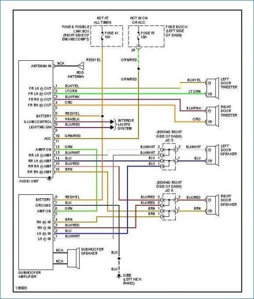 Nissan Nav Radio Wiring