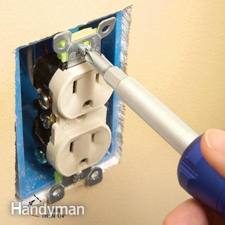 Repair Electrical Outlets  Fix Loose Outlets