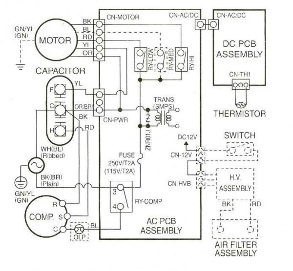 Rheem Gas Pack Wiring Diagram