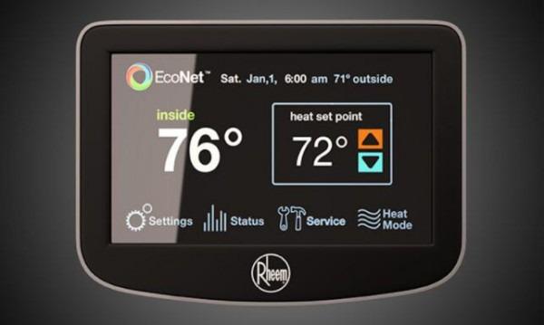 Rheem Thermostat Instructions