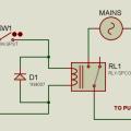 Relay Light Switch