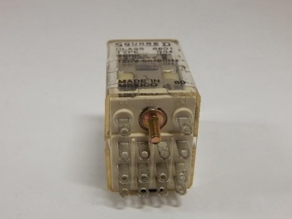 Square D 8501rs4 4pdt Miniature Relay 120v Coil 3a Contacts