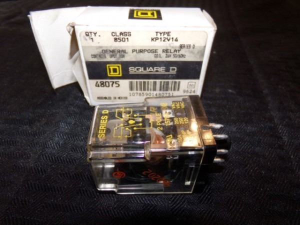 Square D Kp12v14 Class 8501 Ice Cube Relay For Sale Online
