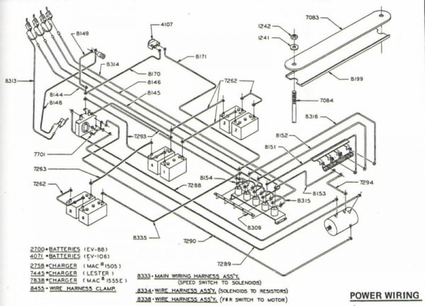Star Golf Cart Wiring Diagram