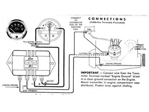 Sun Tachometer Wiring