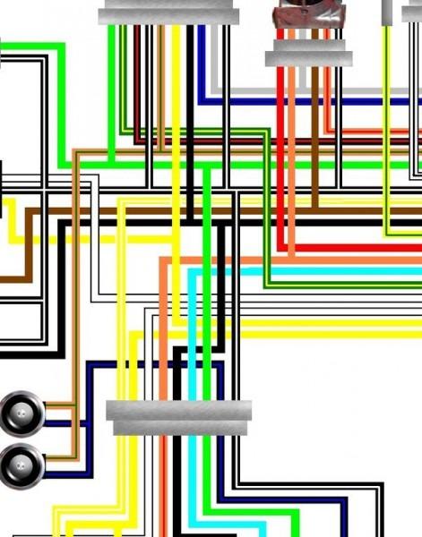 Suzuki Bandit 600 Wiring Diagram