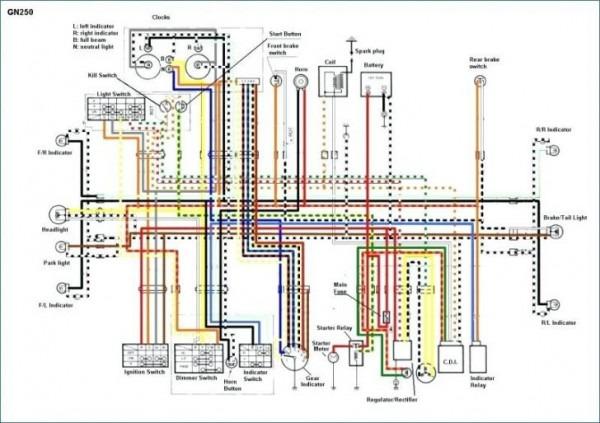 Suzuki Wiring Harness Diagram