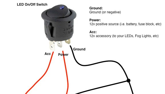 Switch Wiring How To Wire A Toggle Switch Diagram Toggle Switch