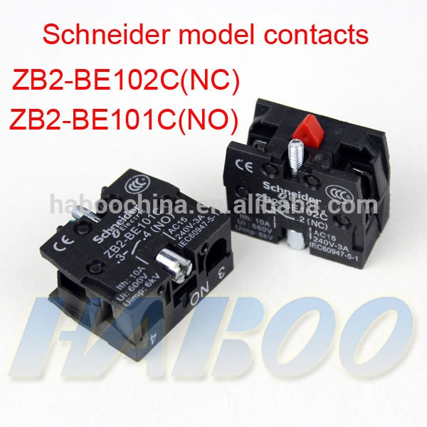 Switches Contacts No Nc Push Button Switch Contacts Blue Color