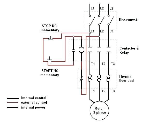 Telemecanique Motor Starter Wiring Diagram