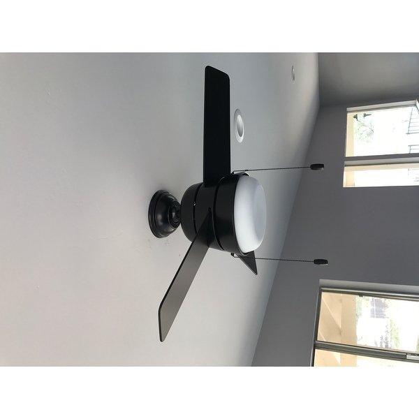 Top Product Reviews For Hunter Fan Aker Matte Black 36