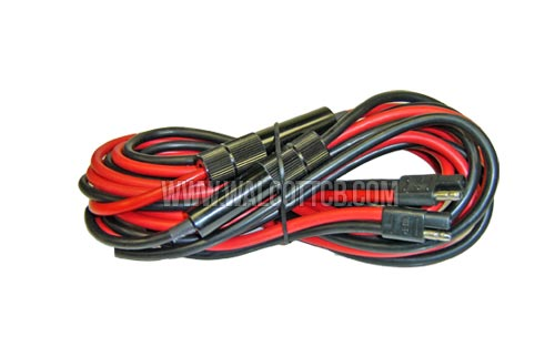 Tp8b Fused 14 Ft 8 Gauge Red + Black Wire