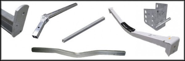 Trailer Tongues, Crossbars And Frame Brackets