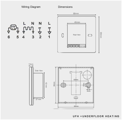 underfloor heating wiring diagram