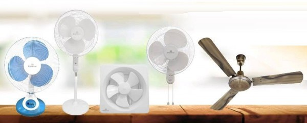 What All Are The Different Types Of Fans