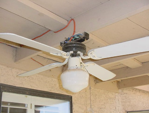 Wire Ceiling Fan To Extension Cord