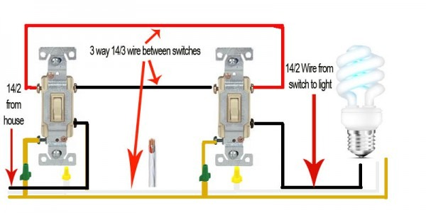 Wire Up A 3 Way Light Switch