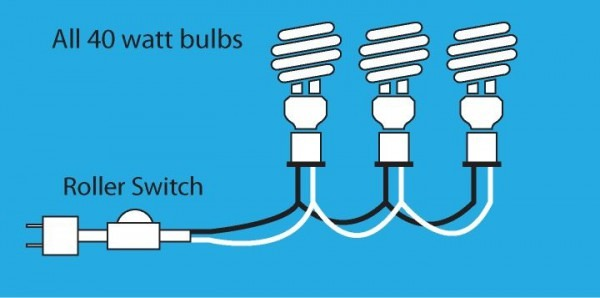 How To Wire 3 Lights Together