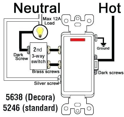 Wiring A 3 Way Dimmer Switch Diagram – Chungcutheavila Com