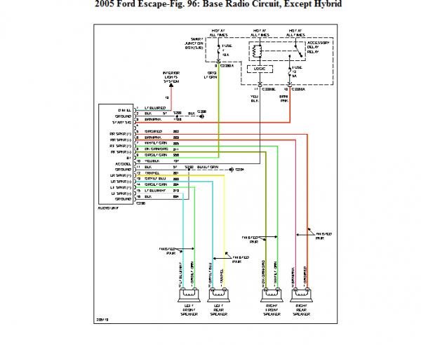 2008 Ford Explorer Wiring Diagram