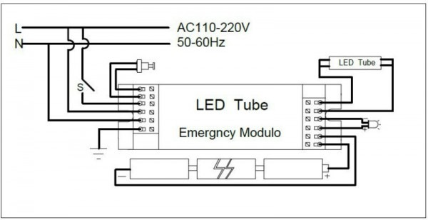 Wiring Diagram For Exit Sign