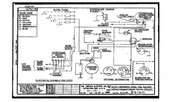 Lincoln Electric Ac 225 Arc Welder Wiring Diagram from www.chanish.org