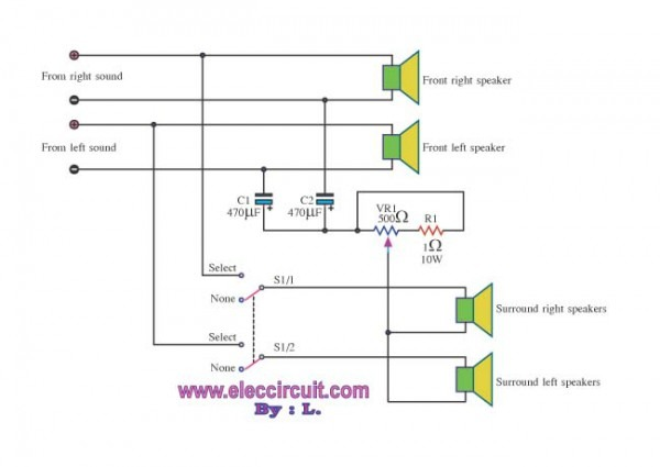 Wiring Diagram For Sound System