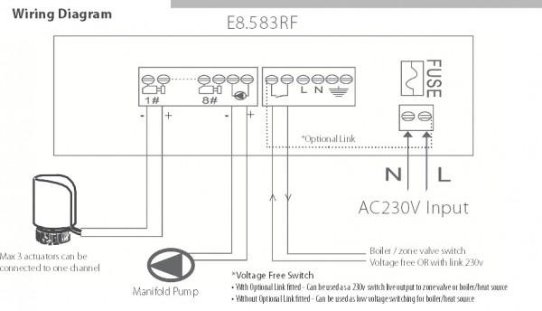 Wiring Diagram For Underfloor Heating Contactor