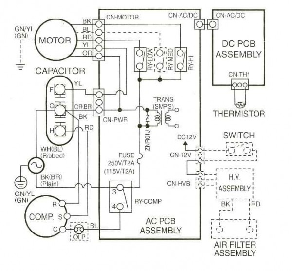 Wiring Diagram For York Air Conditioner