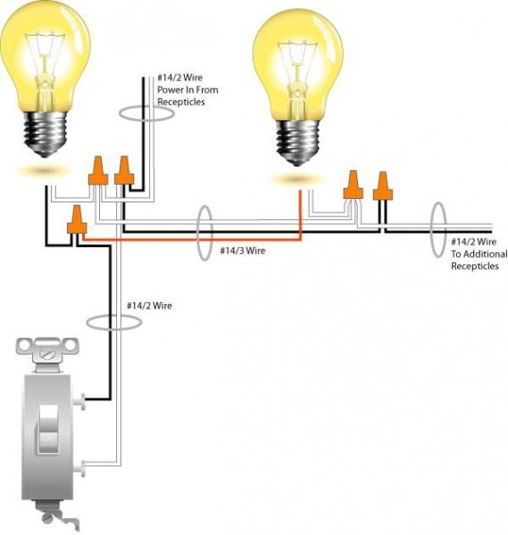 Wiring Light Fixtures In Series