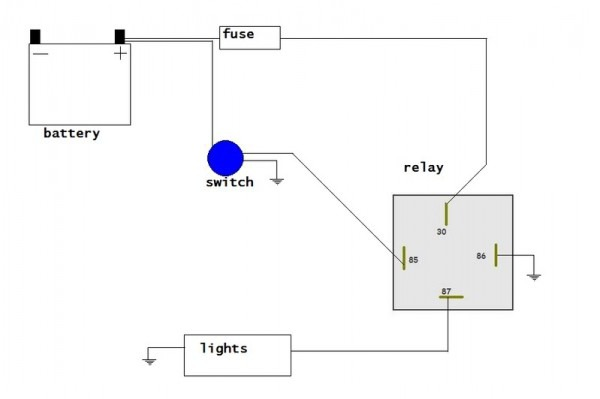 Wiring Tractor Lights