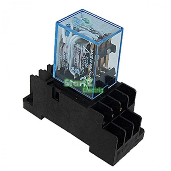 10pcs Relay Omron My4nj 220 240v Ac Small Relay 5a 14pin Coil Dpdt