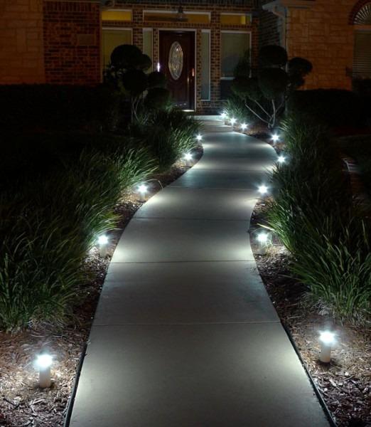 120v Led Landscape Lighting Landscape Lights Led 120v Wired Path