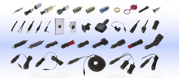 12 Volt Cable Assemblies, Auto Plugs, Auto Sockets And Other