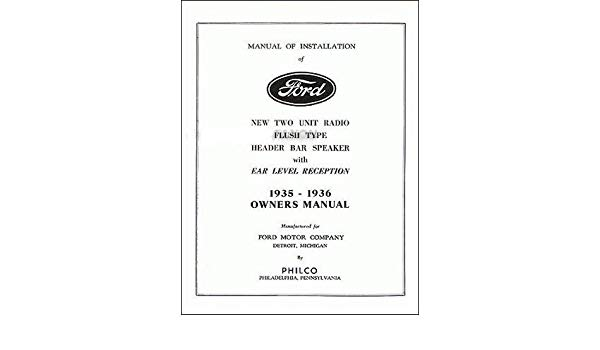 1936 Ford Wiring Diagram