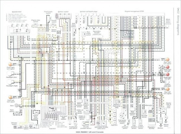 yamaha fzr 600 wiring diagram chevy express wiring diagram